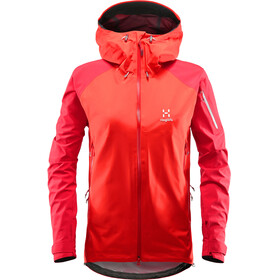 Haglöfs W's Roc Spirit Jacket Pop Red/Rich Red